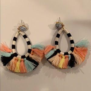 NEVER WORN tassel earrings